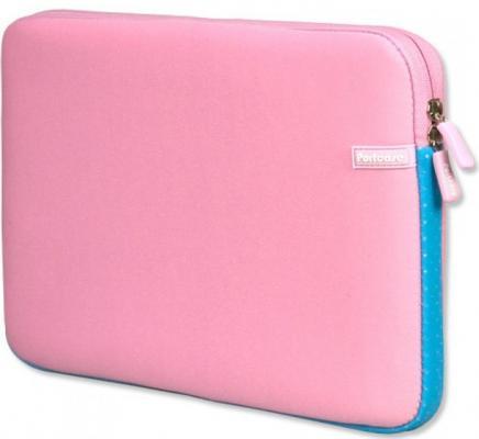Чехол для ноутбука 14 PortCase KNP-14PN розовый чехол для ноутбука 14 printio hands