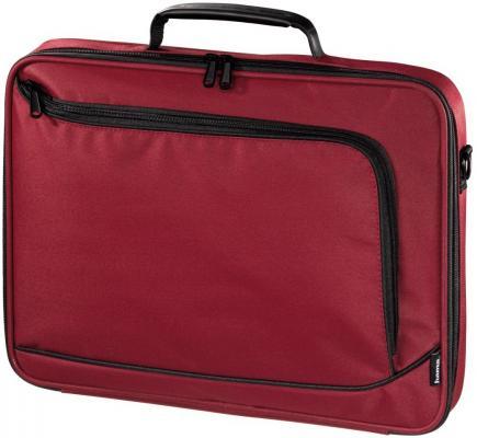 Сумка для ноутбука 17.3 HAMA Sportsline Bordeaux политекс красный 101175