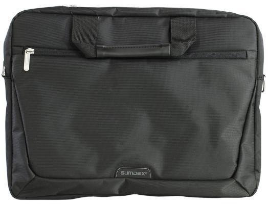 Сумка для ноутбука 15.6 Sumdex PON-111BK нейлон черный сумка для ноутбука 15 sumdex pon 100 нейлон полиэстер черный