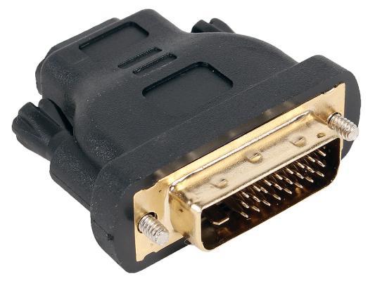 Переходник Aopen HDMI-DVI-D позолоченные контакты ACA312 переходник aopen hdmi dvi d позолоченные контакты aca311