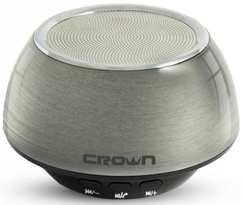 Портативная акустика Crown CMBS-304 черно-серебристый CM000001197