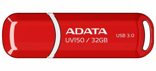 Флешка USB 32Gb A-Data UV128 USB3.0 AUV150-32G-RRD красный флешка usb 32gb a data uv128 usb3 0 auv150 32g rrd красный