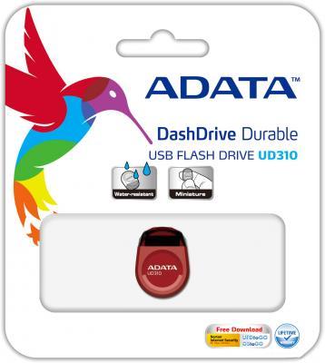 Флешка USB 8Gb A-Data UD310 USB2.0 AUD310-8G-RRD красный флешка usb 16gb a data ud310 usb2 0 aud310 16g rrd красный