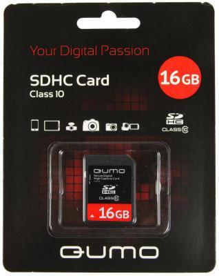 Карта памяти SDHC 8Gb QUMO Class 10 QM8GSDHC10