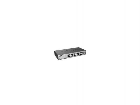 Коммутатор D-Link DES-1024D/E1A неуправляемый 24 порта 10/100Mbps коммутатор d link des 1024d