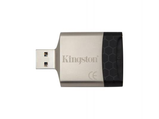 Картридер внешний Kingston FCR-MLG4 USB3.0 черный