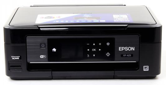 МФУ EPSON Expression Home XP-423 цветное A4 5760x1440dpi Wi-Fi SDApps USB C11CD89405
