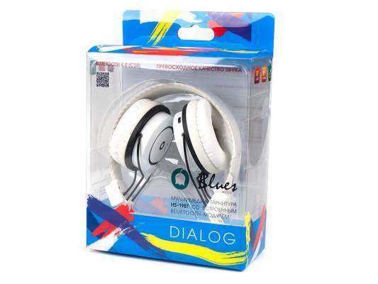 Гарнитура Dialog HS-19BT белый цена