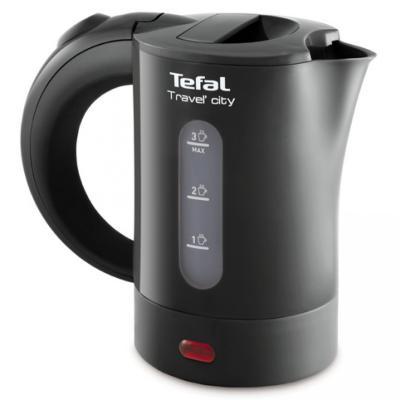 Чайник Tefal KO120B30 650 Вт 0.5 л пластик серый цена и фото