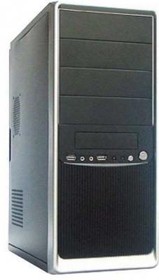 Корпус ATX Super Power Winard 3010 500 Вт чёрный серебристый корпус atx super power winard 3040 c 450 вт чёрный серебристый