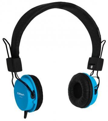 Гарнитура Crown CMH-951 синий гарнитура crown cmh 951 синий