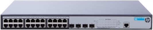 Коммутатор HP 1920-24G-PoE+ управляемый 24 порта 10/100/1000Mbps 4xSFP JG925A