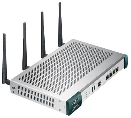 Маршрутизатор Zyxel UAG4100 802.11bgn 300Mbps 2.4 ГГц 4xLAN USB серебристый