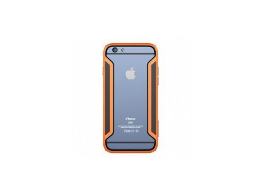 Бампер Nillkin Armor-Border series для iPhone 6 оранжевый T-N-iPhone6-017 косметичка bk iphone6 plus iphone6 5s