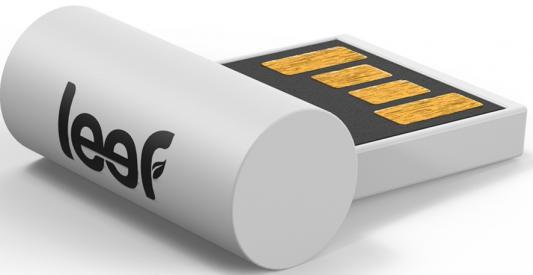 Флешка USB 64Gb Leef Surge LFSUR-064WWR белый leef bridge lfbri 032gkr 32gb usb microusb black