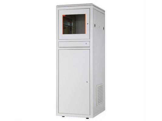 """Шкаф напольный 19"""" 44U Estap Universal Line CKR44U66GF1R2 600x600mm серый"""