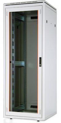 """Шкаф напольный 19"""" 47U Estap Universal Line JUMBO CKR47U88GF1R3 800x800mm серый"""