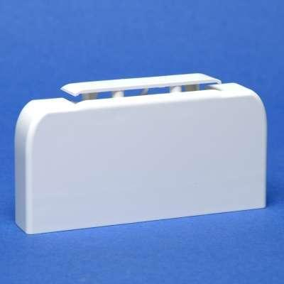 Заглушка LEGRAND 010700 торцевая для кабель-канала 105х50мм  заглушка legrand для кабель канала 40х12 5 белый 31204