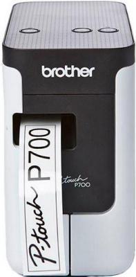 Фото - Принтер для печати наклеек Brother P-touch PT-P700 лента ламинирования brother tz221 9мм для p touch черный на белом