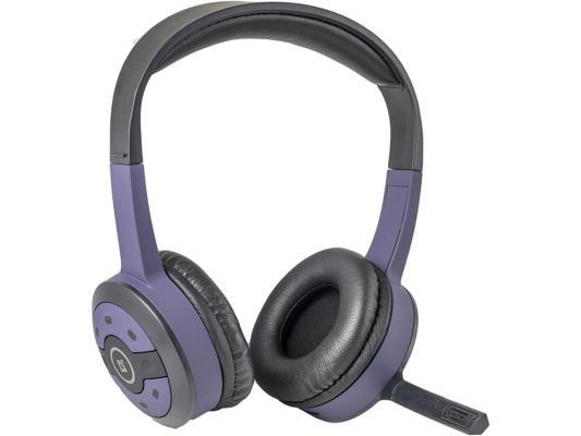 Гарнитура Defender FreeMotion B085 серо-фиолетовый 63085 беспроводные наушники defender freemotion b600 grey
