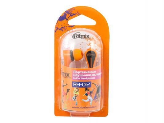 Наушники Ritmix RH-012 оранжевый цены онлайн