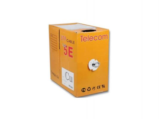 Кабель Telecom UTP медный 4 пары кат 5e 305м UTP4-TC1000C5EМ-CU-IS