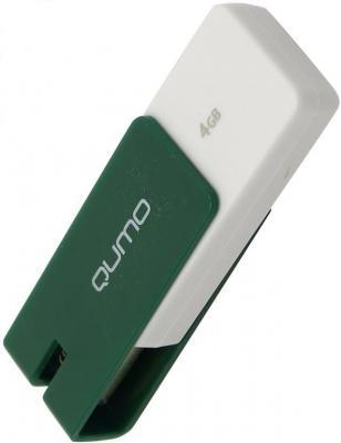 Флешка USB 4Gb QUMO Click USB2.0 зеленый QM4GUD-CLK-Jade