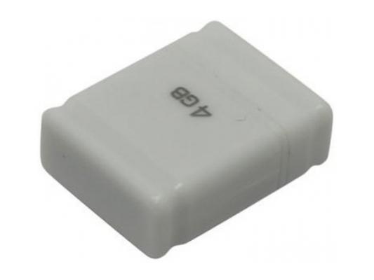 Флешка USB 4Gb QUMO NanoDrive USB2.0 белый QM4GUD-NANO-W