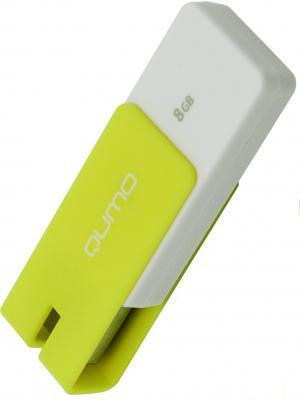 Флешка USB 8Gb QUMO Click USB2.0 желтый QM8GUD-CLK-Lemon