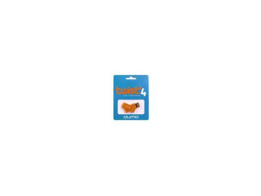 Флешка USB 8Gb QUMO Twist USB2.0 коричневый QM8GUD-TW-Rosewood