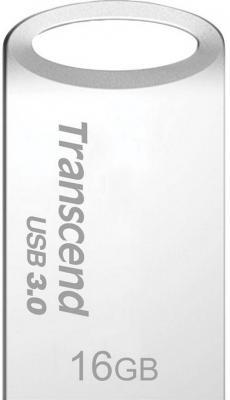 Флешка USB 16Gb Transcend Jetflash 710 TS16GJF710S серебристый флешка usb 16gb transcend jetflash 710 ts16gjf710g золотистый