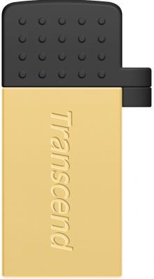 Флешка USB 32Gb Transcend JetFlash 380 TS32GJF380G золотистый