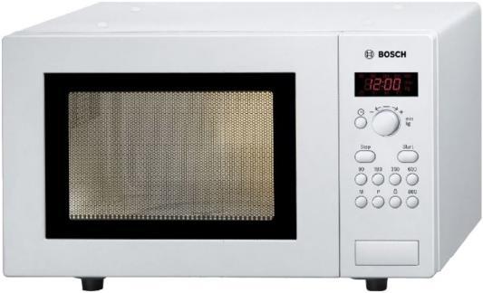 СВЧ Bosch HMT75M421R 800 Вт белый микроволновая печь свч bosch hmt 75 g 421 r