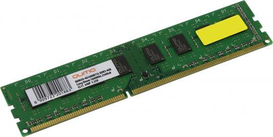все цены на Оперативная память 4Gb PC3-12800 1600MHz DDR3 DIMM QUMO QUM3U-4G1600C11/K11 онлайн