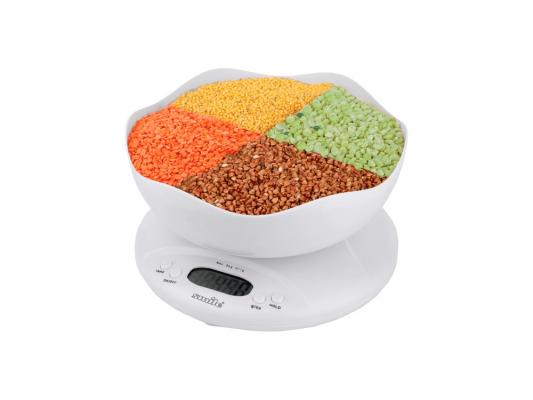 Весы кухонные Smile KSE 3211 белый