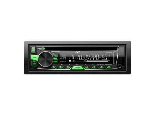 все цены на Автомагнитола JVC KD-R469EY USB MP3 CD FM 1DIN 4x50Вт черный онлайн