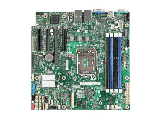 Мат. плата для ПК INTEL S1200V3RPL Socket 1150 C226 4xDDR3 1xPCI-E 4x 2xPCI-E 8x 6xSATAIII mATX