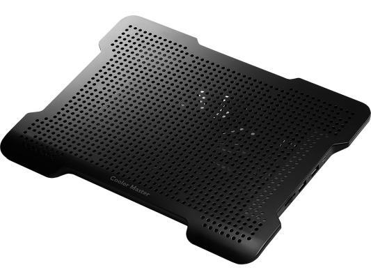 Подставка для ноутбука до 15 Cooler Master NotePal X-Lite II R9-NBC-XL2K-GP пластик/металл 1400об/мин 21db черный охлаждающая подставка для ноутбука cooler master notepal xl r9 nbc nxlk gp