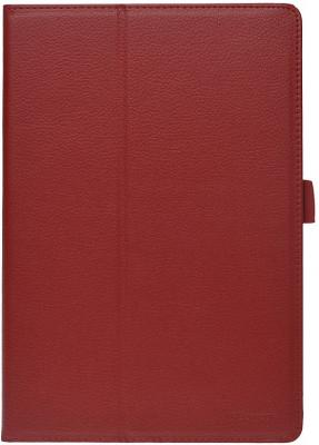 Чехол IT BAGGAGE для планшета Lenovo Idea Tab A10-70 A7600 10 искуственная кожа красный ITLNA7602-3 чехол it baggage для планшета lenovo yoga tablet 2 8 искуственная кожа красный itlny282 3