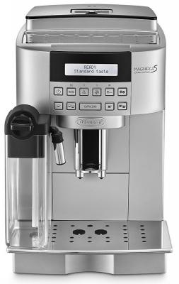 Кофемашина Delonghi ECAM 22.360.S 1450Вт 15бар 1.8л серебристый кофемашина delonghi dinamica ecam 350 15 b