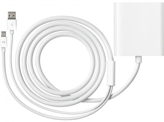 Адаптер-переходник Apple Mini DisplayPort to Dual-Link DVI Adapter (MB571Z/A)