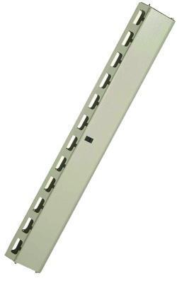 """Органайзер вертикальный кабельный RELAYrack 19"""" 36U 135мм серый M44ORG36RLYG"""