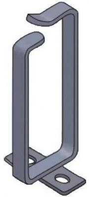 Кольцо для кабель-органайзера Estap K44RING04B 70х160мм 5шт черный