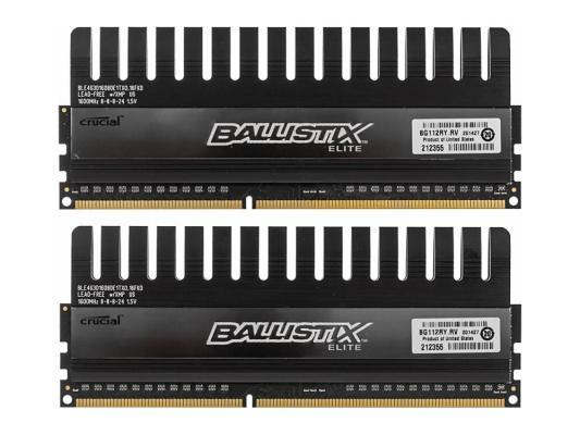 Оперативная память 8Gb (2х4Gb) PC3-12800 1600MHz DDR3 DIMM Crucial BLE2CP4G3D1608DE1TX0CEU