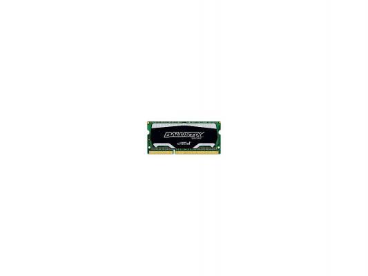 Оперативная память для ноутбуков SO-DDR3 4Gb PC3-12800 1600MHz Crucial BLS4G3N169ES4CEU unbuffered Retail