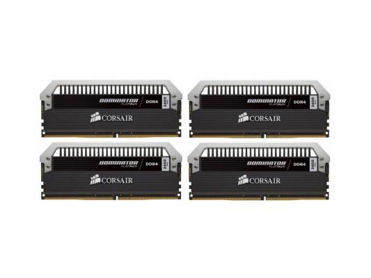 Оперативная память 32Gb (4x8Gb) PC4-19200 2400MHz DDR4 DIMM Corsair CMD32GX4M4A2400C14 unbuffered Retail