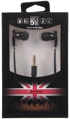Наушники Soundtronix S-233 Flat черный