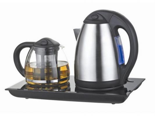 Чайный набор Unit UEK-232 1850Вт 1.7л металл черный