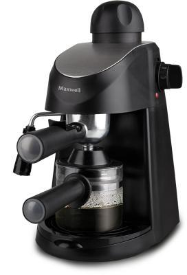 Кофеварка Maxwell MW-1655 BK черный