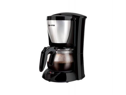 Кофеварка Vitek VT-1518(BK) кофеварка vitek vt 1502 bk
